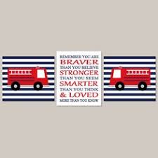 Firefighter Nursery Decor Fireman Nursery Fighter Decor Truck Owen S