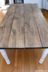 white stain on wood table how to stain wood even if it s your first time green with decor