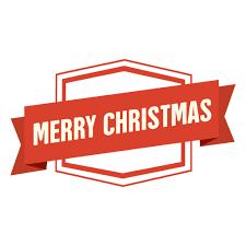 merry christmas ribbon merry christmas ribbon badge transparent png svg vector