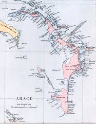Bahamas World Map Abaco Maps Rolling Harbour Abaco