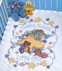 dimensions twinkle twinkle stmpd x stitch quilt kit joann