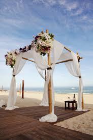 Wedding Arches Inside White Draped Wedding Ceremony Arch Beach Weddings Wooden Floors