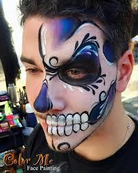Color Me Pretty Paint The by Sugar Skull Makeup Face Painting Color Me Face Painting