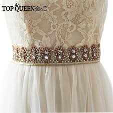 wedding sashes topqueen as20 india silk evening party gown dresses