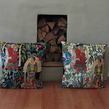 frida kahlo cushion cover by twentysevenpalms notonthehighstreet com