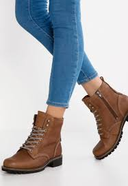ankle boots ecco elaine lace up boots cocoa brown ecco