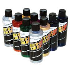 basic candy auto air color kit 6 candy colors 2 candy bases