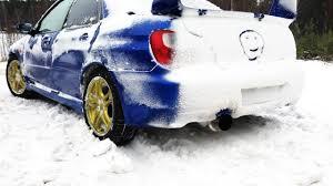 subaru snow subaru impreza wrx vs audi quattro winter snow lake drift youtube