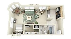 Small One Bedroom Apartment Designs Studio Apartment Floor Plans Apartment Floor Plans Designs