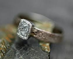 made engagement rings sawn australian on forged recycled gold ring custom