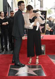 Hopkins Carpet Adam Levine U0027s Daughter Dusty Rose Steals The Show At His Hollywood