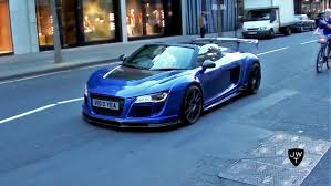 audi r8 modified supercars in london part 23 modified r8 v10 gt brabus g63 amg