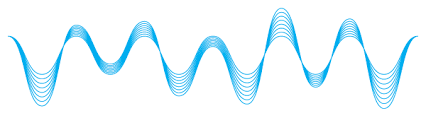 how to design sound waves in illustrator