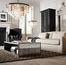 Restoration Hardware Coffee Table 48 Strand Mirrored Coffee Table Restoration Hardware Living