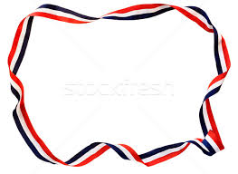 white and blue ribbon white blue ribbon stock photo jo snover jsnover