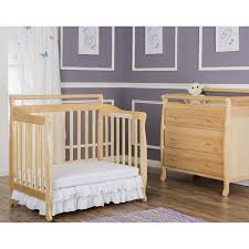 Crib That Converts To Twin Bed by Dream On Me 4 In 1 Portable Convertible Mini Crib Espresso