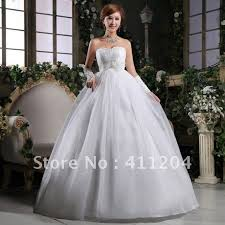 Wedding Dresses For Pregnant Women Pregnant Woman Good Quality Wedding Dress Sewn By Hand Lace Up
