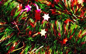 christmas tinsel christmas tinsel with up stock photo colourbox