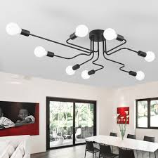 Wrought Iron Ceiling Lights Vintage Ceiling Lights For Home Lighting Luminaire Rod