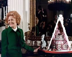 christmas cheer first lady pat nixon and gingerbread house