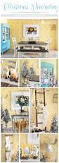 christmas decorating with a stenciled backdrop stencil stories cutting edge stencils shares diy christmas decorating ideas for a julia allover stenciled dining room