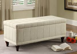 amazon com homelegance 4730nf lift top storage bench with tufted