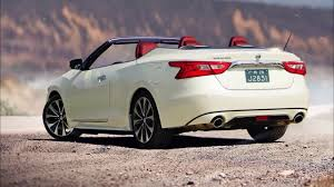 nissan maxima 2017 nissan maxima convertible 2017 interior and exterior youtube