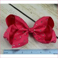 hair bows 6 inch rhinestone hair bow bundle simply sweet alligator clip