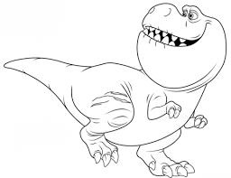 nash good dinosaur coloring free printable