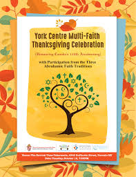 thanksgiving 2010 canada york centre multi faith thanksgiving celebration tickets tue 10