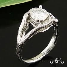 tree branch engagement ring my custom jewelry design at green lake jewelry works