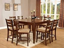 Mission Style Dining Room Sets by Amazon Com Furniture Of America Terri 7 Piece Mission Style