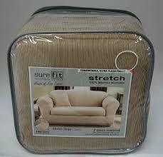 Striped Slipcovers For Sofas Loveseat Sofa Covers Centerfieldbar Com