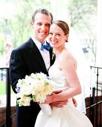 a whimsical blue and white wedding in connecticut martha stewart