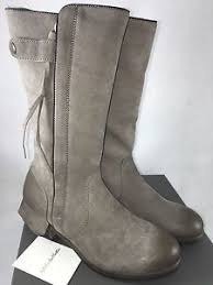 ugg womens motorcycle boots ugg collection enna grigio womens gray grey leather