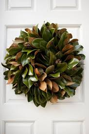 southern spotting magnolia wreath southern weddings