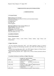 Resume Samples Higher Education by Sample Resume Uk