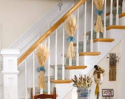 Banister Decorations 25 Elegant Diy Thanksgiving Decor Ideas