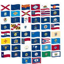 Maine State Flag Martin U0027s Flag Complete Set Of All 50 State Flags Made In Usa