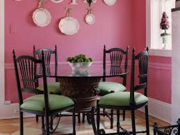red dining room colors paint with chair rail wall for color ideas