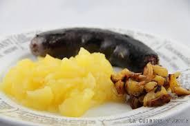 cuisiner le boudin recette boudin aux pommes la cuisine familiale un plat une recette