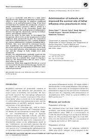 Sho Nr Kur administraion of isoferulic acid improved pdf available