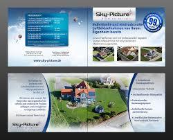 flyer design preise flyer klappkarte für luftbildaufnahmen flyer design