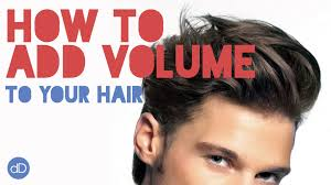 how to cut long hair to get volume at the crown how to add volume to your hair men s hairstyle tips youtube