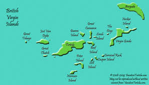 map of the bvi islands map