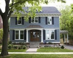 blue house white trim blue house with black shutters richard freeman blue house black
