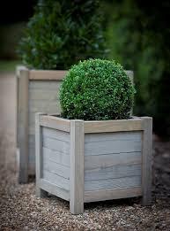 best 25 wooden planters ideas on pinterest pallet landscaping