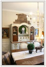 From My Front Porch To Yours French Country Farmhouse Dining Room - French country dining room