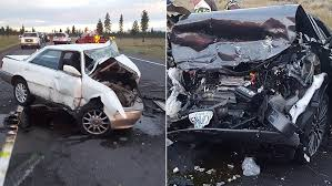 head on crash kills 2 injures 3 on oregon hwy 97 kval