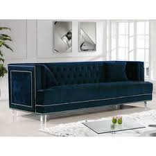 Chesterfield Sofa Bed Modern Velvet Sofas Couches Allmodern
